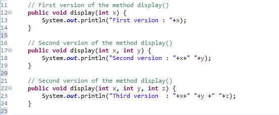 overloading method optional parameters